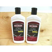 Lot Of 2 Weiman Glass Cook Top Cleaner and Polish 10 OZ NEW