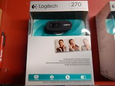 Logitech C270 720p HD Webcam with Built-in Mic *NEW*