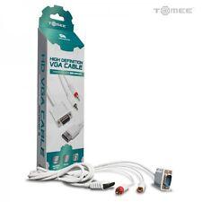 CABLE HD 720p  VGA + 2 RCA (AUDIO VIDEO) CONSOLE SEGA DREAMCAST DC NEUF ADC4539