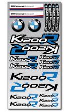 K1200R Motorrad Aufkleber blatt Laminiert stickers bmw s1200 R Motorsport Blau