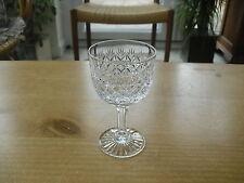 "Thomas Webb Wellington 5oz Claret Wine Glass - 4 3/4""(>12cms) - 2 available"