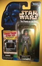 "Star Wars Captain Piett POTF Freeze Frame 3.75"" action figure Empire Strikes NEW"