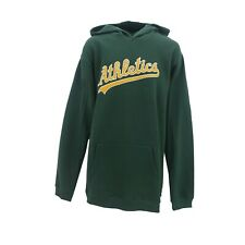 Oakland Athletics A's Official MLB Majestic Kids Youth Size Hooded Sweatshirt