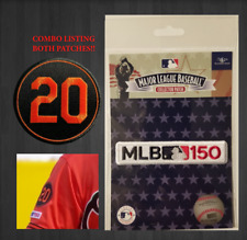 1cbf2bb513f FRANK ROBINSON PATCH  20 MEMORIAL PATCH Plus MLB 150th BALTIMORE ORIOLES