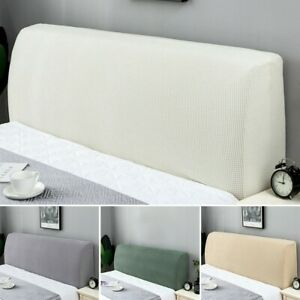 Headboard Cover Stretch Bed Head Change Dust-Proof Bedding Bedspread Slipcover