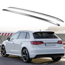 Silver Decorative Side Bars Rails Roof Rack For Audi A3 8V Hatchback 2012-2018