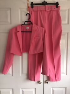 🌈 Oh Polly Pink Suit Co Ord Size 14 BNWOT