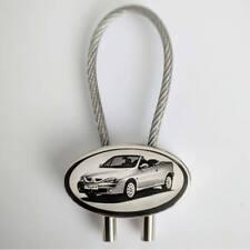 Renault Megane Cabrio Auto Schlüsselanhänger als Bildgravur mit eigenem Text