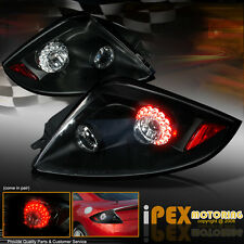 BRIGHTEST Pair 2006-2011 Mitsubishi Eclipse GS/GT/SPYDER LED Tail Light Black