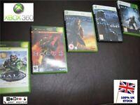 XBOX 360 HALO 5 Game MEGA BUNDLE - Games 1 - 4 + ODST -  XBOX 360