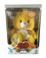 MINT Rare CARE Bears 25th Anniversary Plush Yellow Toy Limited Edition Japan