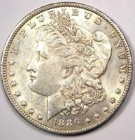 1886-O Morgan Silver Dollar $1 - Nearly Uncirculated (UNC MS) - Rare Date!