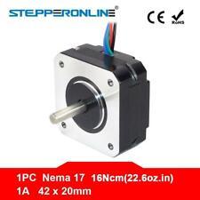 Short Body Nema 17 Stepper Motor 20mm 16ncm 1a Nema17 Step Motor 4 Lead 17hs08 1