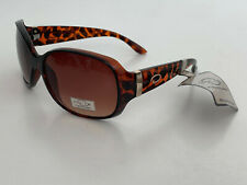 NEW! OSCAR DE LA RENTA TORTOISE BROWN FRAME SUNGLASSES SHADES SUNNIES SALE