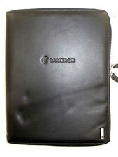NEW Victorinox 'Vancouver' Zip-Around iPad Case Black Napa Leather w/Logo NWD