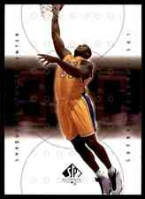 2000-01 SP AUTHENTIC SHAQUILLE O'NEAL LOS ANGELES LAKERS #38
