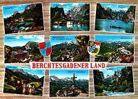 Berchtesgadener Land , Ansichtskarte, gelaufen