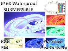 IP68 Waterproof 12V RGB 5M 5050 SMD 300 LED Strips Led Strip Light 24 key remote