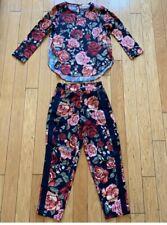 Monnalisa , girls casual suit ,size10 y.o,multicolor