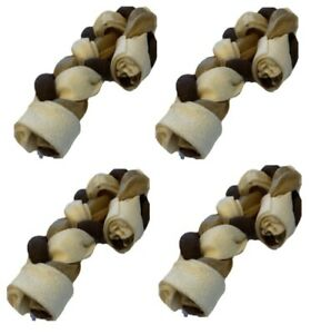 "Chewy Braided Cane Turkey Treat Small 5"" Chewy Braid Turkey Flavour Dog Chew"
