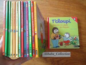 LOT 14 LIVRE T'CHOUPI Courtin NATHAN JEUNESSE SERIE TCHOUPI enfant Collection