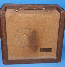 Vintage 1950s Sears Roebuck Silvertone Model # 1451 Tube Amp Amplifier -WORKS-