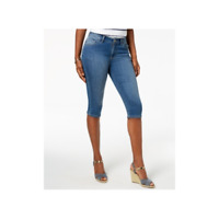 Lee Platinum Petite Stretch Denim Capri Jeans