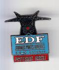 RARE PINS PIN'S .. EDF GDF POSTE SAINT HUBERT PORTES OUVERTES 3J 57 ~B4