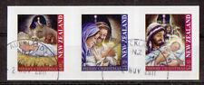 Nueva Zelanda 2011 Navidad coilstrip of 3S / ad.fine USADO