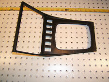 Porsche late model 944 center LONG style console BLACK 1 cover, 944 552 117 00
