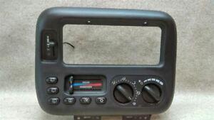 Temperature Control AC With Dual Zone Fits 99-00 CARAVAN R1-179459