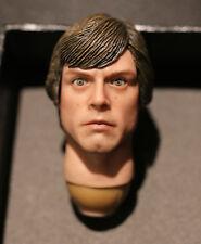 Custom ! Luke Skywalker jedi movable eyes 2.0 Star Wars 1/6 head 2