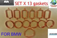 BMW Diesel Intake Manifold Gasket Set 6 cylinder M57 D25, M57 D30, 2.5d, 3.0d