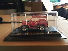 "DIE CAST "" JEEP SURREY NASSAU - 1960 "" 1/43 TAXI SCALA 1/43"