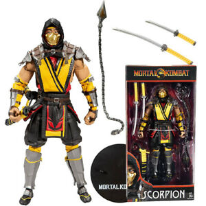 """Mortal Kombat Scorpion 7"""" Action Figure New In Stock McFarlane Official Collect"""