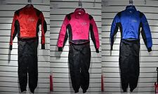 CRW Junior Pit Crew Suit   Non Fireproof   Kids Overalls   Red, Pink or Blue