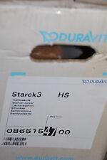 DURAVIT STARCK3 0865154700 HALBSÄULE WASCHTISCHSÄULE PERGAMON INSOLVENZ NEU