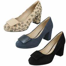 Clarks Ladies Court Shoes Kelda Gem