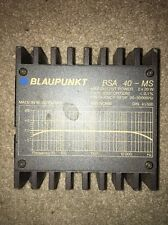 Old school Blaupunkt BSA-40ms Car stereo amplifier 40wa 20x2 Porsche BMW Ferrari