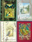 Handmade RELIGIOUS CHRISTMAS CARDS #CR12--Lot of 4