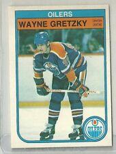 1982/83 O-Pee-Chee Hockey Wayne Gretzky Card # 106 Near Mint Condition