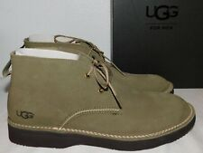 NEW NiB MENS SIZE 11.5 TAUPE UGG CAMINO CHUKKA SUEDE LACE-UP BOOTS