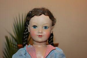 "Vintage Schildkrot doll, Germany, 1940 Schildkroet puppe 16.5"""