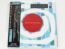 RIPCHORD Lock Up Your Daughters Ep BVCP-28088 JAPAN CD w/OBI 065a59