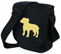 Staffyjack Dog Bag Dog Walkers Shoulder Bags StaffieJack Jackstaff Birthday Gift