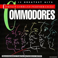 THE COMMODORES - 14 GREATEST HITS - LIONEL RICHIE - BEST OF -**EXCELLENT**