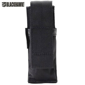 Blackhawk Hook Backed Single Pistol Mag Pouch- Black
