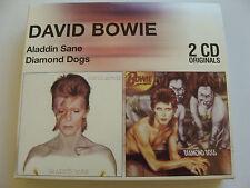Bundle: David Bowie : 2 CD Originals Aladdin Sane & Diamond Dogs