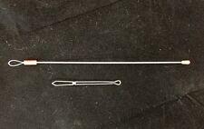 """Bodkins Set of 2 - One Pincer Bodkin + One Loop Bodkin (Long Wire 7"""")"""