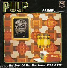 PULP Primal / The Best Of The Fire Years 1983 - 1992 CD